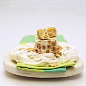 Torrone e torroncini morbidi (Nut nougat and nougat sweets)