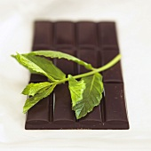 Chocolate with peppermint