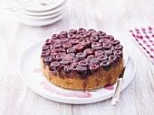 Cherry upside-down cake