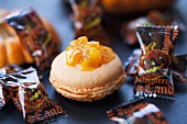 Macaron and Halloween sweets