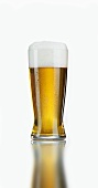 Glas helles Lager Bier