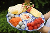 Fruit platter from Thailand