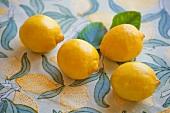 Four whole lemons