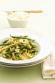 Trofie with green beans and pesto