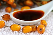 Sea buckthorn oil and sea buckthorn berries
