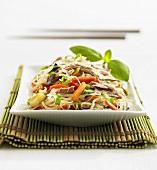 Glass noodle salad with tuna (Asia)