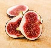 Fresh fig, sliced