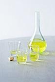 Cedratine Likör aus wilden Zitronen