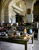 Kitchen, Château du Lude (France)