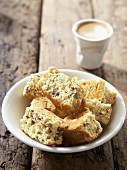 Rusks (dry biscuits from South Africa) and coffee