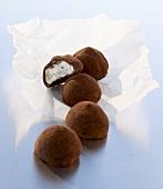 Vanilla truffles