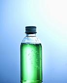A bottle of washing-up liquid