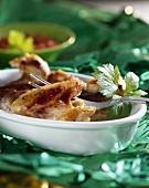 Paprika chicken wings