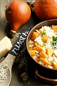 Risotto with pumpkin and Parmesan