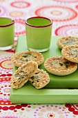 Tuna and spinach tarts