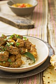 Vindaloo (Indian lamb curry)