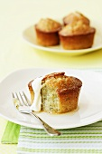 Lemon and poppyseed muffins