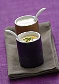Yoghurt mayonnaise and yoghurt dip