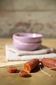 Chorizo (Spanish paprika sausage)