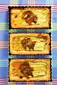 Vegetable tarts
