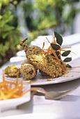 Ayurvedic cuisine: yellow pimentos with sesame (Sri Lanka)