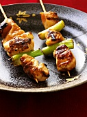 Yakitori (Grilled chicken skewers, Japan)