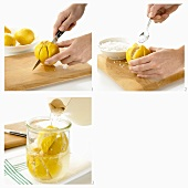 Pickling lemons
