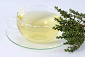 A cup of thyme tea