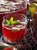 Fruit and elderberry punch
