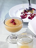 Quince puree with cranberries