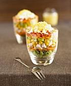 Cobb salad (Mixed salad, USA)
