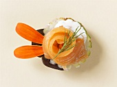 Salmon appetiser (from above)