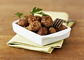 Poultry meatballs