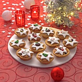 Mince pies (British Christmas speciality)