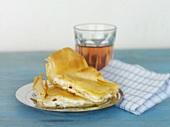 Tiropita (Sheep's cheese in filo pastry, Greece)