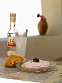 Taramasalata (Greek fish roe dip)
