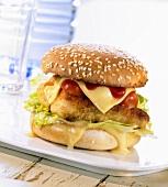 Hähnchenburger