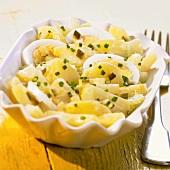 Egg and potato salad