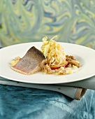 Alpenlachs salmon with apple & celery and walnut butter