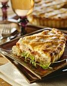 Kassler-Sauerkraut-Pie