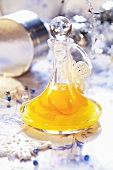 Orange liqueur for Christmas