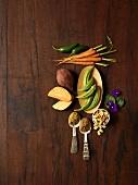 Zutaten für afrikanische Gerichte