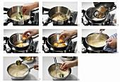 Sauce Bearnaise zubereiten