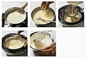 Making Bavarian cream