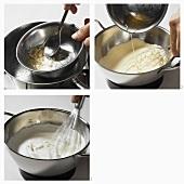 Sahnecreme zubereiten