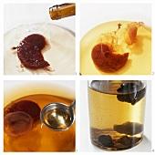 Making home-made vinegar