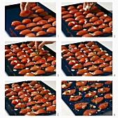 Making tomato confit