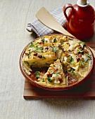 Tortilla mit Wintergemüse