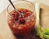 Tomato and pepper salsa