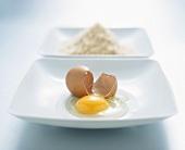 Broken egg and breadcrumbs (for coating)
